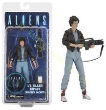 "NECA Aliens 12 Series Lt. Ellen Ripley Bomber Jacket 7"" Action Figure Model"