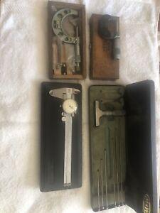 Micrometers and dial caliper