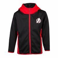 Marvel Avengers Logo Teq Longue Fermeture Capuche Enfants Unisexe 122/128
