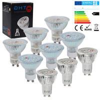10er/20er GU10 MR16 LED Lampen 3W 4W 5W 6W 7W Energiesparlampe Kaltweiß/Warmweiß
