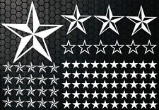 93 Sterne Star Auto Aufkleber Set Sticker Tuning Shirt Stylin WandtattooTribel j