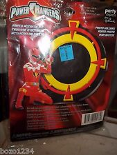 NIP POWER RANGERS PHOTO HOLDERS PARTY EXPRESS HALLMARK KIT MAKE 4 PICTURE FRAMES