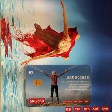 Schweizer TV HD SRG Sat Access Karte SRG  Version 6.0 unbegrenzt freigeschalten