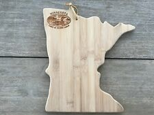 "Totally Bamboo Minnesota State Shaped Bamboo Serving & Cutting Board 13"" x 11.5"""