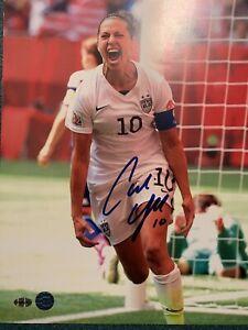 Carli Lloyd Autographed 11X14 Team USA Photo w/ COA Authentication