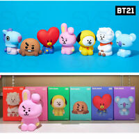 BTS BT21 Official Authentic Goods Figure Coin Bank + Tracking Number