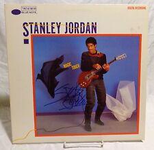 Stanley Jordan Signed Autographed Album F