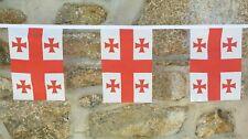 Georgia Flag Polyester Bunting - Various Lengths