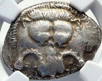 MITHRAPATA Dynast of Lycia Authentic Ancient 390BC Silver Greek Coin NGC i82709