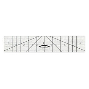 """Good Measure Every Angle by Amanda Murphy 1/4"""" Thick Machine Quilting Ruler"""
