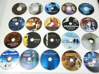 Lot of 18 DVD Movies *DISC ONLY* Star Wars Lord of the Rings Bourne Tomb Raider