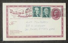 Us Sc Ux63 Natrona Hell , Wyoming Postal Stationery 1974