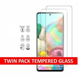 Tempered Glass Screen Protector For Samsung Galaxy A01 A11 A21s A31 A41 A51 A71