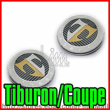 T  TUSCANI HOOD + TAIL EMBLEM SET FOR TIBURON / COUPE 03-06 with Tracking No.