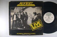 ALCATRAZZ No Parole From Rock 'N' Roll LIVE Sentence LP Rocshire Records