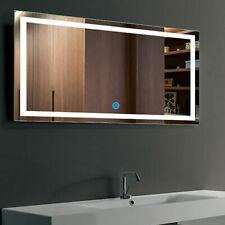 "LED Bathroom Mirror 40""x24"" Illuminated Lighted Vanity Wall Horizontal Mirror"