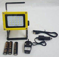 30w LED Flood Light Rechargeable Portable Outdoor Garden Security Camping Hiking