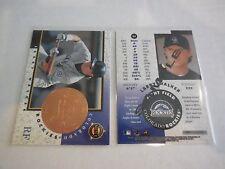 1X LARRY WALKER 1998 Pinnacle Mint #24 PROMO SAMPLE Lots Available NMMT