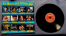 """DISQUE VINYLE 33 T FR/LA BOUM DES ANNEES 60""""VOLUME 1""""IMPACT 6885 951 FRANCE"""