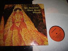 MINT- THE BEAUTIFUL HARE KRISHNA PEOPLE 1970s 2x LP GERMAN INDIAN FOLK CLASSICAL