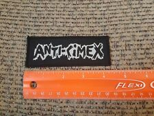 Anti-Cimex Amebix Anti-Phobia Antisect Punk Doom Filth Sew on Cloth Patch