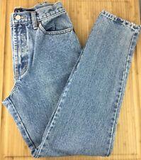 USED Womens 8L Slim Fit GAP High Rise Light Washed Zipper Pants Jeans Denim