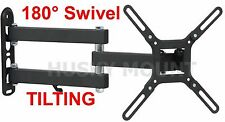 Full Motion TV wall mount Tilt Bracket 24 27 32 39 40 Inch LED LCD Flat Screen