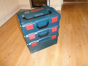 Bosch Sortimo L-Boxx Stackable Tool Box  x 3