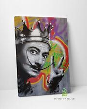 More details for peace salvador dali canvas art graffiti wall street art print picture decor-d305