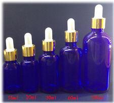 30ml 5pcs Colors Blue Light-proof Glass Dropper Bottle To Store Essential Oil