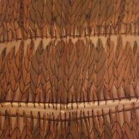 Vintage Vera Neumann 60's Tobacco Leaf Scarf~ Tobacco Leaf Design