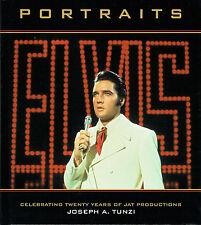 Elvis Presley - Portraits - JAT Productions Hardback Book