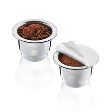 GEFU Wiederbefüllbare Kaffeekapseln CONSCIO 2 Stück für Kapselmaschinen