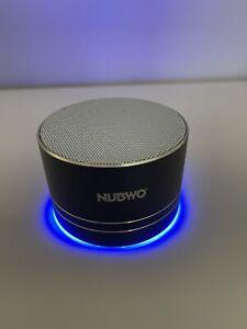 NEW NUBWO Mini Wireless Bluetooth Speaker Speaker A2 and Travel Case - Black
