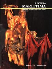 RIVISTA MARITTIMA - N. 1 GENNAIO 1989  AA.VV. MARINA MILITARE 1989