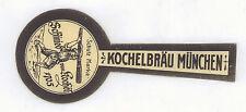 Brauerei Kochelbräu altes Bier Etikett aus München