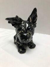 Vintage Japan Black Scottie Dog