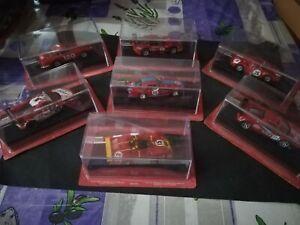 Lotto Modellini Ferrari Scala 1/43 Racing Collection come nuove