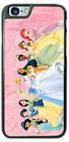Disney Princesses Pink Castle Phone Case for iPhone X 8 PLUS Samsung Google etc