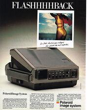 PUBLICITE ADVERTISING 124  1988  POLAROID IMAGE SYSTEM   le FLASHHHHHBACK