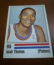 New sticker #95 Isiah Thomas - Detroit Pistons NBA 89 Panini Basket