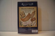 Brand NEW Real Leather Crafts - Discover Leathercraft Kit