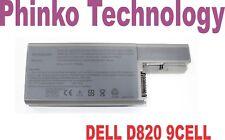 9 Cell 7800mAh Laptop Battery for Dell Latitude D530 D531 D531N D820 D830