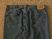 Levi's 501 Straight leg Button Fly Jeans Mens tag=44x34 (MEASURED=41x34) (3514)