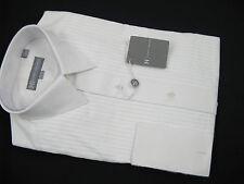 NEW! NWT! $195 Hickey Freeman Formal Tuxedo Dress Shirt!  15 35  Pleated Bib