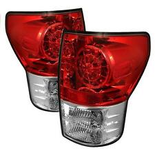 Tail Lights Toyota Tundra 2007-2012 LED - Red Clear