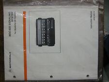 Motorola Manual SYNTOR X  MDC-600 System 90 #68P80100W10-B