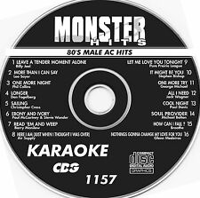 Monster Hits Karaoke CD+G #1157,Billy Joel,Michael Bolton,Breathe,Air Supply +++