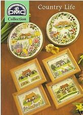 Country Life Cottages Cross Stitch Chart/Pattern - 6 Designs