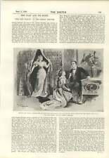 1894 Nuevo Mujer Comedia Teatro una cosa necesarios Chaqueta de piel de foca